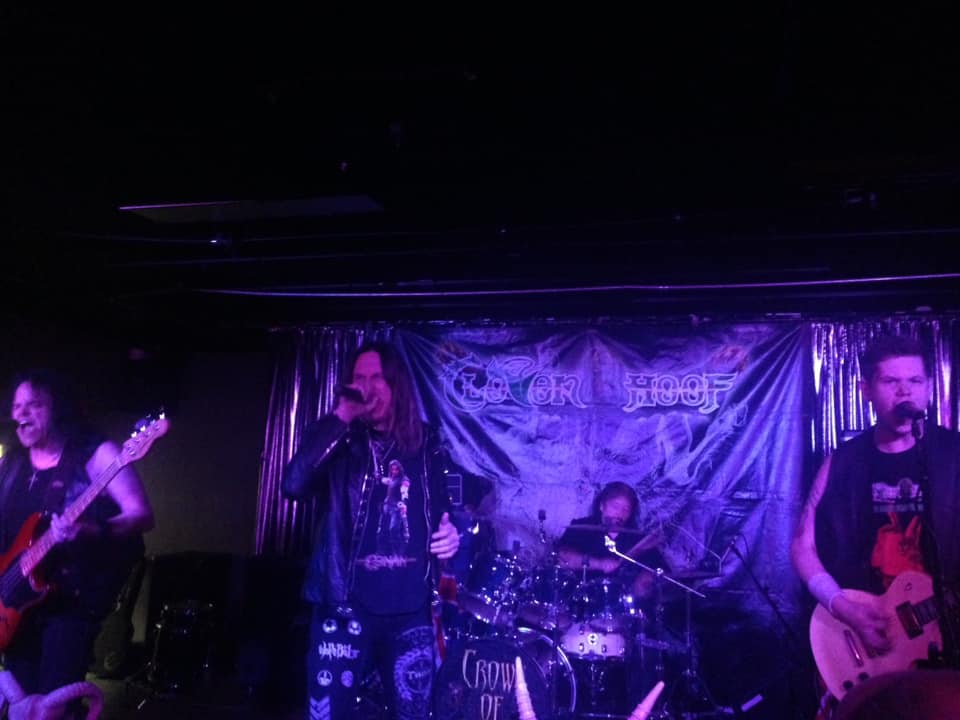 NWOBHM Warhorses Cloven Hoof Engage In Ritual Combat At Cattivo (5/31/2019)