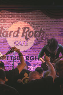 NeverWake, Paradigm and 9 Stitch Method at The Hard Rock Cafe!