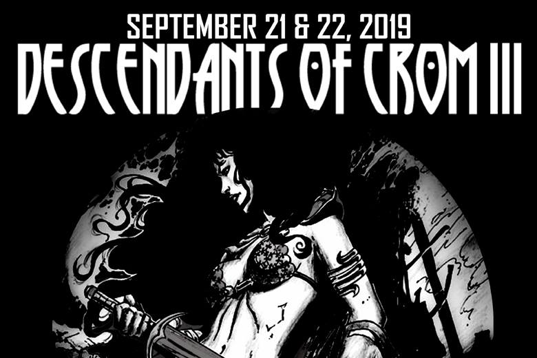 Descendants Of Crom Pre-Gala This Friday Evening!
