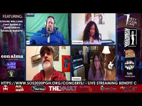 Interviews: SOS PGH Concert Series Season 2 Week 2 - Blues Night