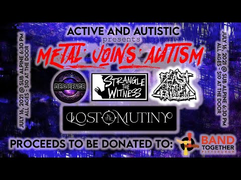 Metal Joins Autism: Friday July 16th at Sub Alpine